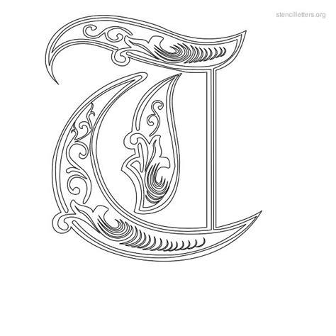 decorative lettering templates stencil letters t printable free t stencils stencil