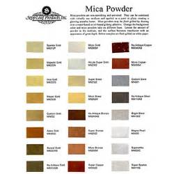 mica color mica powder color chart