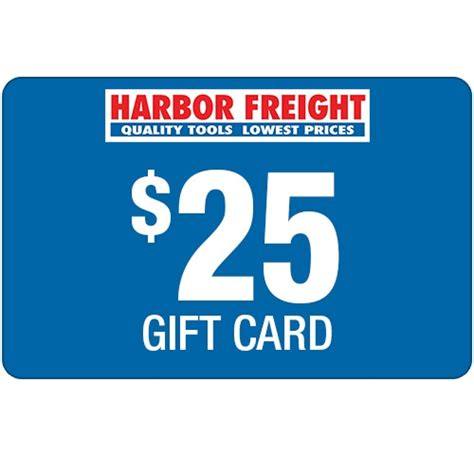 $25 Harbor Freight Gift Card $25 Gift Card