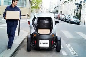 Renault Cargo Twizy Cargo Le Nouveau Renault S 233 Quipe D Un Coffre Et