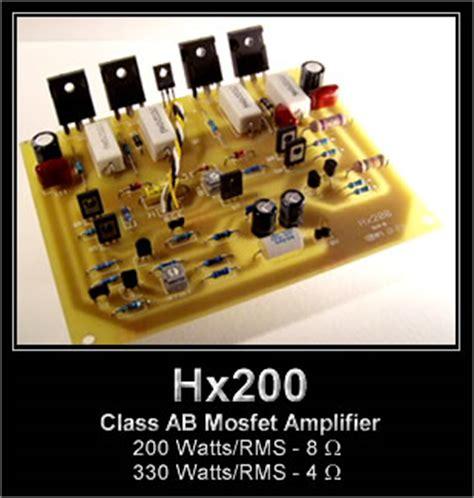 hx mosfet amplifier kit  ampslab
