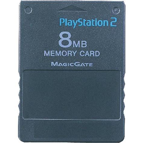 Memori Card Ps2 Hitam 8mb playstation 2 memory card 8mb