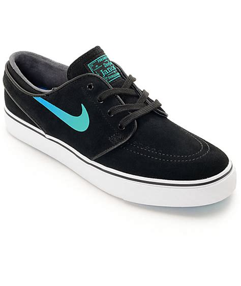 nike sb janoski black hombre blue suede s skate shoes