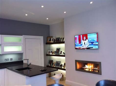 Fireplace Ideas No Fire by Fireplace With Tv Above Cvo Co Uk