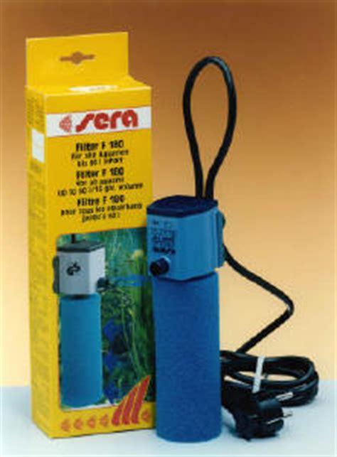 filtri interni per acquari filtraggio