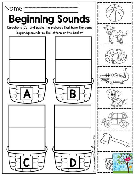 Alphabet Sounds Worksheets by Sound Homework Help
