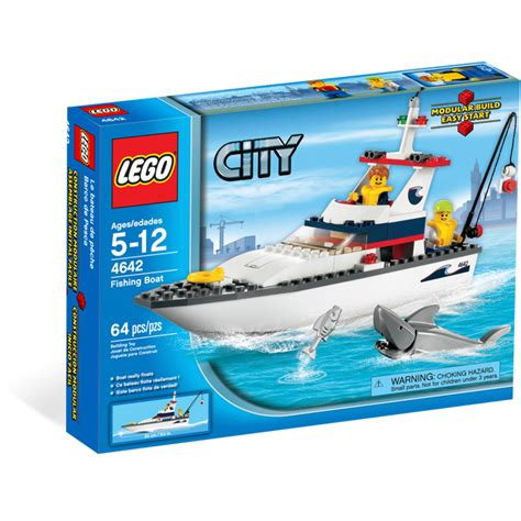 lego city fishing boat speed build lego fishing boat set 4642 brick owl lego marketplace