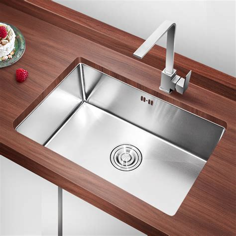 Kitchen Sink Sets Sus 304 Stainless Steel Handmade Kitchen Sink Sets Undermount Above Counter Apron Front Single