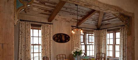 Log Cabin Style Homes Wood Beams Elmwood Reclaimed Timber