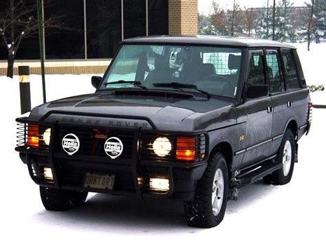 land rover 1992 darktari 1992 land rover range rover specs photos