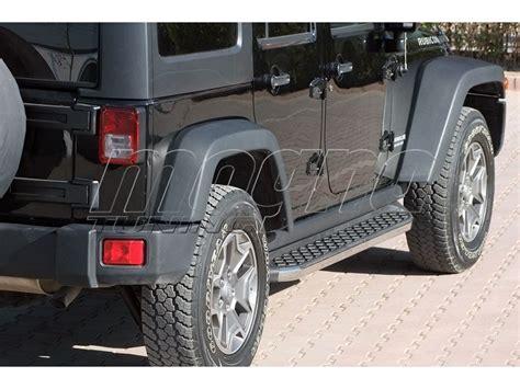 Jeep Wrangler Unlimited Side Steps Jeep Wrangler Tj Unlimited Helios Running Boards