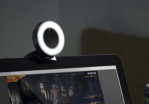lights out free stream razer kiyo live stream camera with built in led ring light