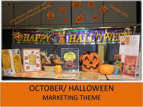 Any Apartment Marketing Ideas October Themed Apartment Marketing Ideas Low Cost