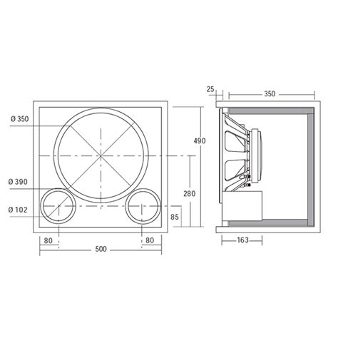 bass cabinet design pdf diy bass speaker cabinet plans download attached gable