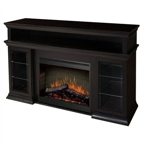 tv stands with electric fireplaces dimplex symphony media tv stand with electric