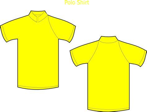 Kaos Math Science 23 yellow polo shirt clip at clker vector clip