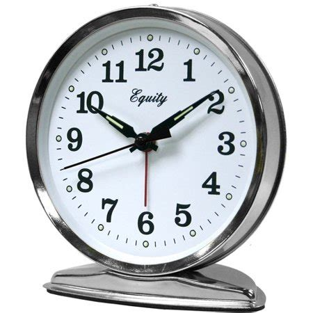 equity  la crosse  wind  loud bell alarm clock