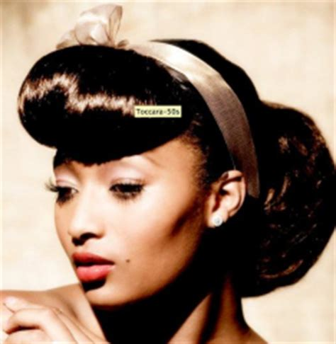 1950 African American Hairstyles | where can i find african american hair styles of the 50 s