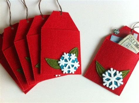 Gift Card Ornament Holder - christmas tree gift card holders christmas ideas pinterest
