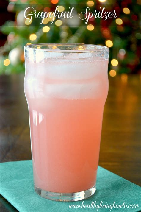 Doing A Lier Detox And Thirsty by Healthy Recipe Grapefruit Spritzer