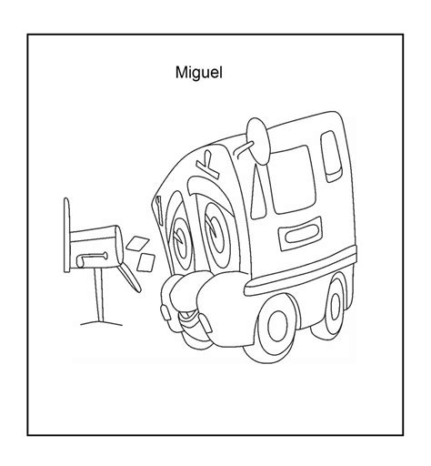 for coloring pages to send mail coloring pages