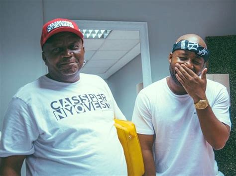 who is the father of cassper nyovest cassper nyovest s father steals the show at cassper s