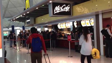 Hong Kong Court Search Food Court At Hong Kong International Airport