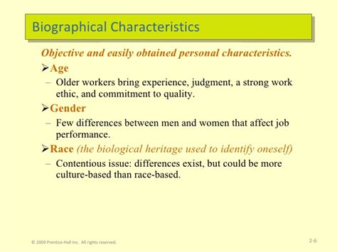 biography definition and characteristics discuss the relationship between ability and biographical