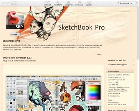 sketchbook pro not on app store top 20 mac app store apps for graphic designers bonfx