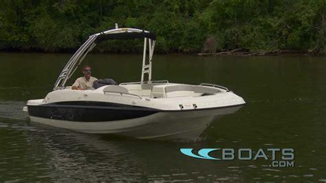 bayliner deck boat reviews 2012 bayliner 217 deck boat video review youtube