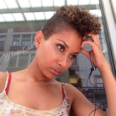 ladies short sides curly top 75 most inspiring natural hairstyles for short hair in 2017