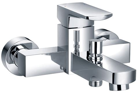 Flova Dekka Wall Or Deck Mounted Bath Shower Mixer Tap Bathroom Shower Mixer Taps