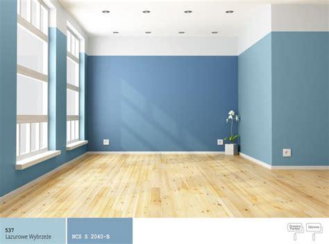 jaki kolor farby dobrać do koloru niebieskiego malowanie dwoma kolorami farb farby śnieżka