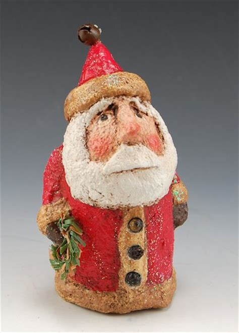 Minil Santaklaus mini santa claus santa claus figurines and carved