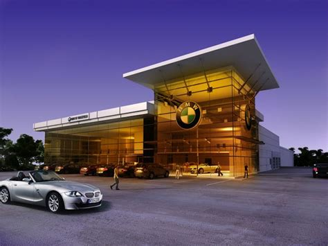 bmw showroom exterior
