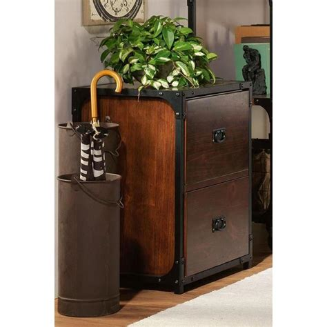 pine filing cabinets for home home decorators collection industrial empire pine file