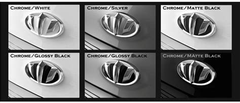Emblem Logo Luxury Chrome brenthon emblem importshark