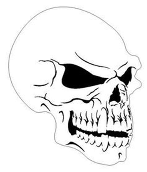 skull templates for airbrushing free airbrush stencils stencil skull picture