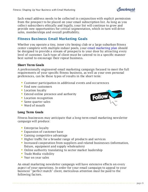 email marketing for fitness amp health