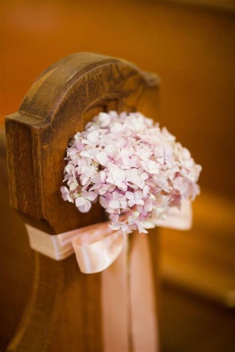 Decorate Church for Wedding. Wedding Pew Bows