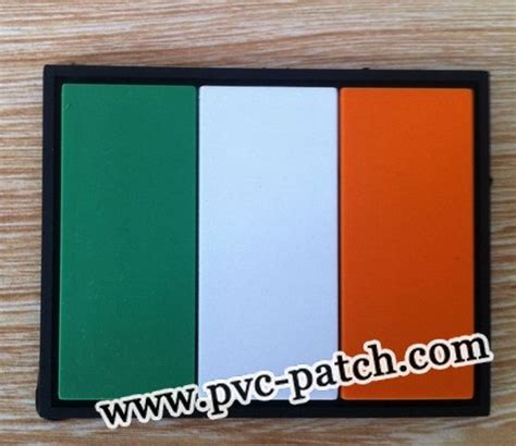 Patch Pvc M249 With Velcro ireland flag pvc patch with velcro flag patch pvc velcro patch
