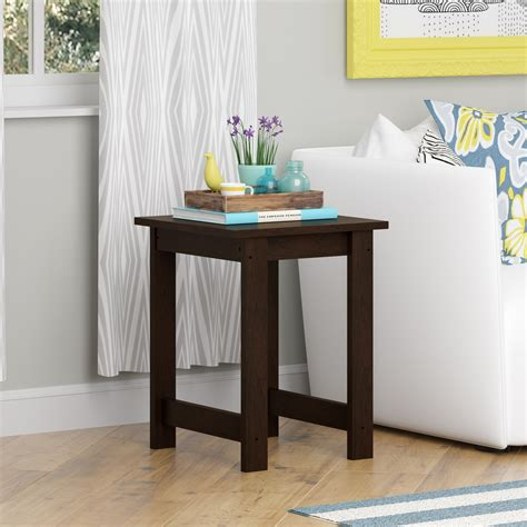 does rooms to go layaway to go side table cherry