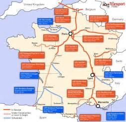 France Train Map by Tgv France Train Map Car Tuning