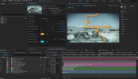 Adobe Adds New Essential Graphics Workflow To After Effects And Premiere Studio Daily Premiere Pro Animation Templates