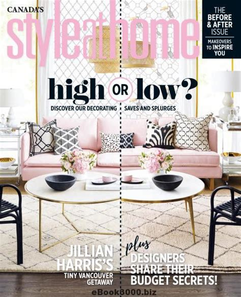 home decor magazine canada style at home canada june 2017 free pdf magazine download