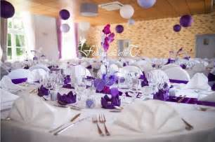 d 233 coration de mariage violet d 233 co mariage