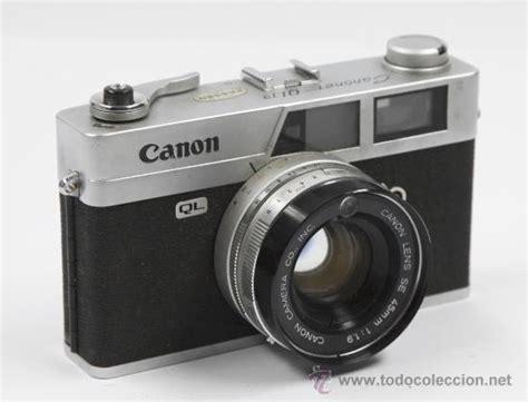 camaras de fotos cannon c 225 mara de fotos canon canonet ql19 comprar c 225 maras