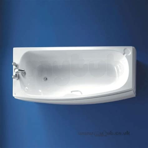ideal standard shower baths ideal standard studio 1700 x 700 no tap holes left shower bath white ideal standard