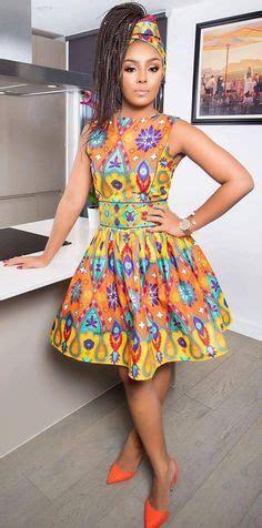 Simple Ankara Straight Short Gown