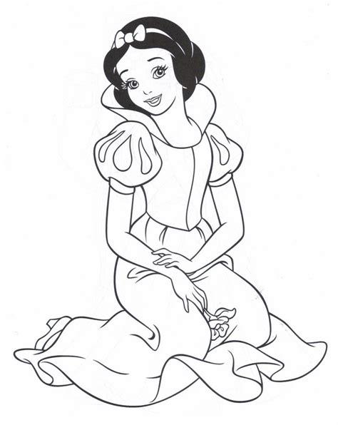 imagenes para colorear blanca nieves blancanieves hd dibujoswiki com